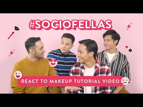 #SOCIOFELLAS React To Makeup Tutorial Video thumbnail
