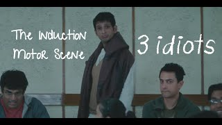 Induction Motor Funny scene | 3 Idiots | Aamir Khan | R Madhavan | Sharman Joshi