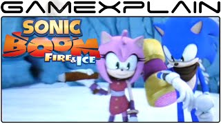 Sonic Boom: Fire & Ice - Opening & Ice World Gameplay (Direct-Feed Audio)