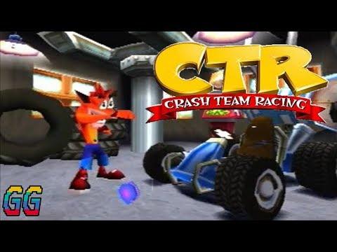 PS1 Crash Team Racing 1999 PLAYTHROUGH (101%)
