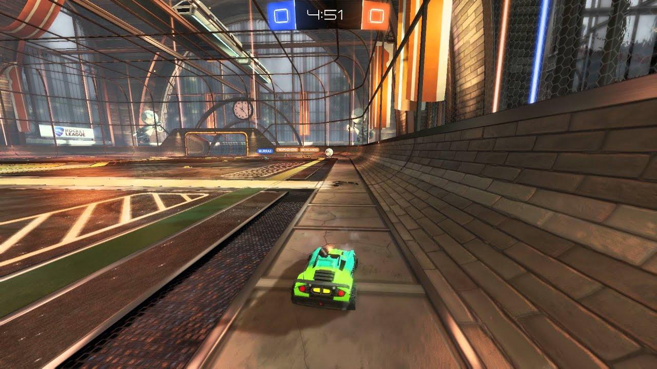 Rocket league top goal