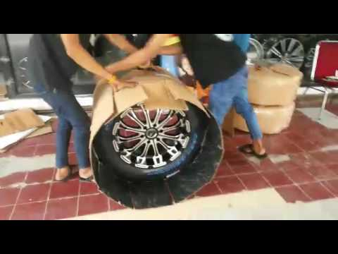 Packing velg racing mobil fortuner ring 20 murah vip autostyle