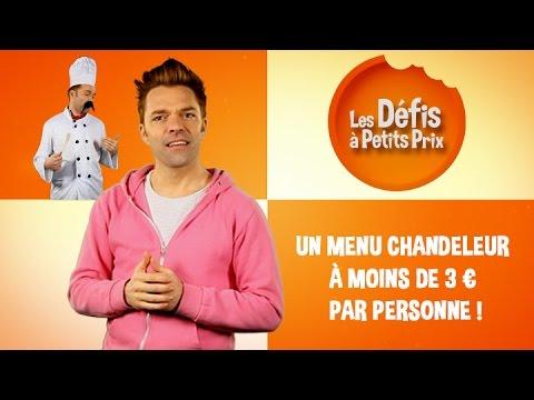 Menu Chandeleur à moins de 3€ - Défis à Petits Prix