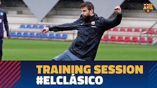 BARÇA 5-1 MADRID | Last training session before El Clásico