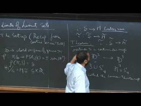 Limits of limit sets - Mj Mahan