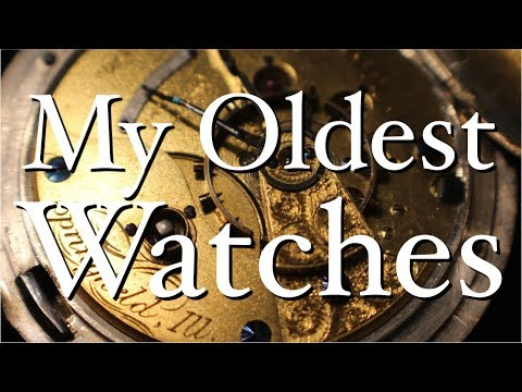ASMR My Oldest Watches (soft-spoken show-and-tell, ticking, metal sounds)