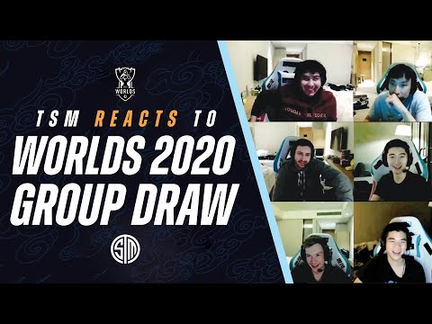 TSM REACTS To Worlds 2020 Group Draw!   League Of Legends (LOL)
