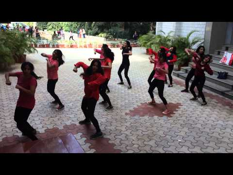 Mount Carmel College, Bangalore. Dance Team: 2014-15.