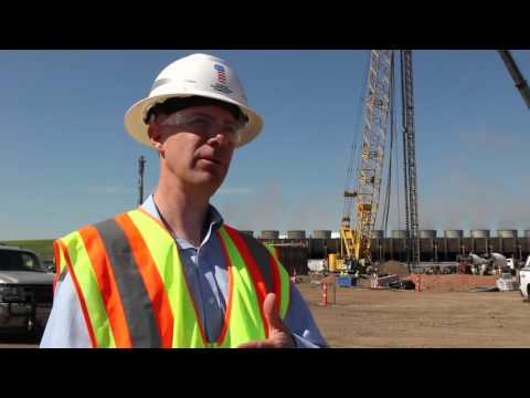 Pilings project essential to Dakota Gasification Company's urea facility construction