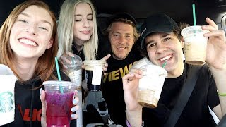 Download DAVIDS FIRST TIME AT STARBUCKS!! Mp3 and Videos