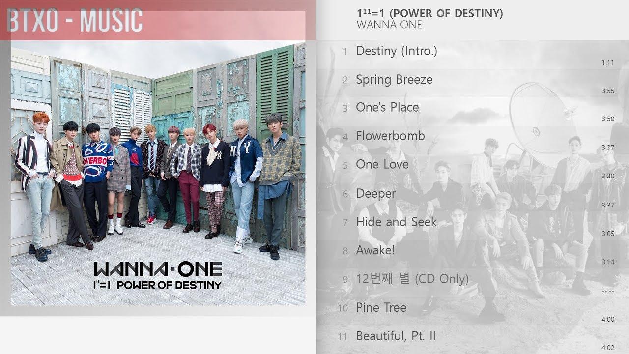 Download [Full Album] Wanna One - 1¹¹=1 (POWER OF DESTINY)
