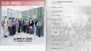 [Full Album] Wanna One - 1¹¹=1 (POWER OF DESTINY)