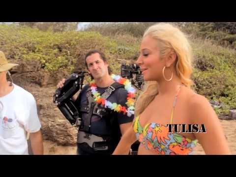 Tulisa - Live It Up (Behind The Scenes)