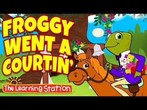 froggy-went-a-courtin'-♫-storytime-songs-for-children-♫-kids-songs-&-rhymes-by-the-learning-station