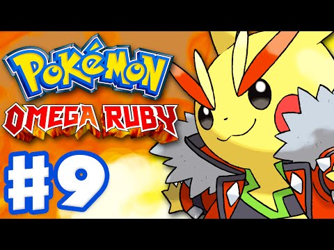 Pokemon Omega Ruby and Alpha Sapphire - Gameplay Walkthrough Part 9 - Cosplay Pikachu!