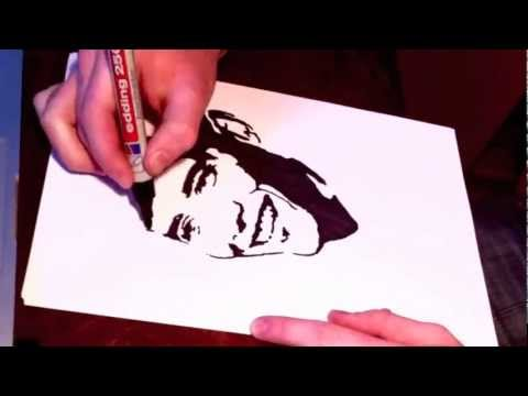 JULIAN - HOW I MAKE A STENCIL - YouTube