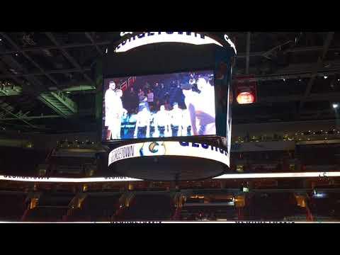 Georgetown Hoyas Starters vs. University of Maryland Eastern Shore (UMES) 11-18-2017