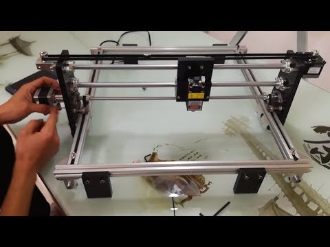 How to DIY a Laser Engraving Machine?