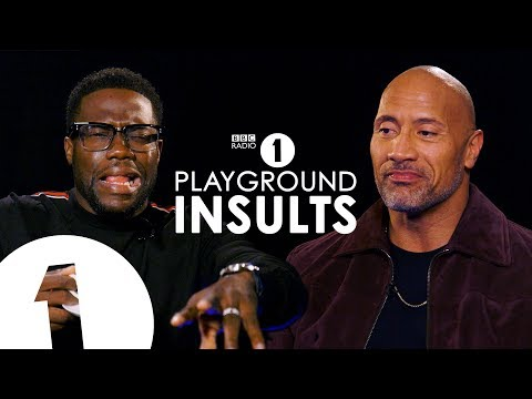 Dwayne Johnson and Kevin Hart Insult Each Other | CONTAINS S