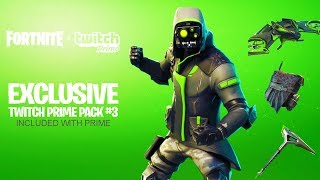 "NOUVEAU ""Twitch Prime Pack #3"" à Fortnite! (Tous les NEW FREE SKINS et COSMETICS à Fortnite!)"