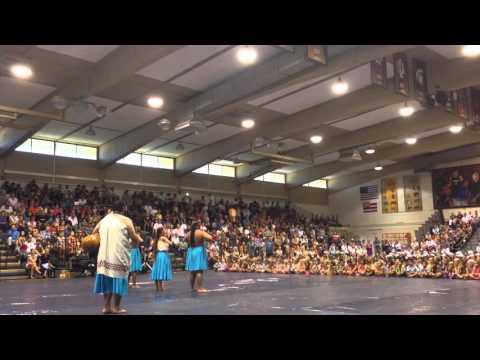 Maui King Kamehameha School Cerebrating May Day 2014 (5/23/2014)