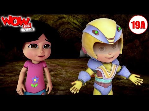 Kartun Bahasa Indonesia  Vir: The Robot Boy  Kartun Anak  Sang Labirin  WowKidz Indonesia