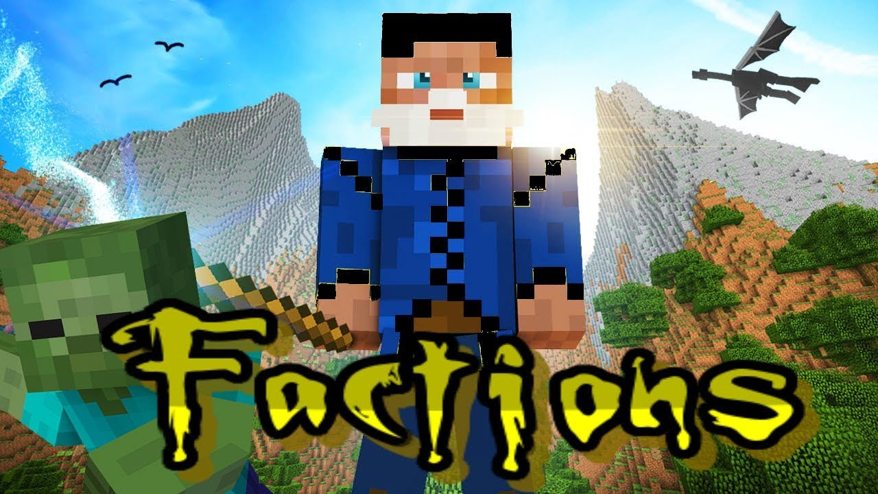 Minecraft Factions Realm/Server 2018