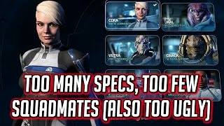 Mass Effect: Andromeda - Too Many Profiles, Too Ugly & Too Few Squad Mates