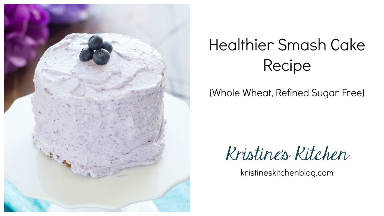 Healthy smash cake recipe 1st birthday