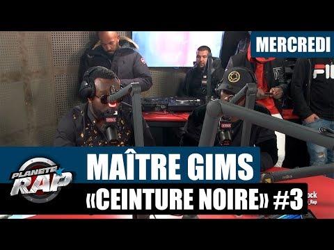 """Planète Rap - Maître Gims """"Ceinture Noire"""" #Mercredi"""