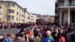 AFC Bournemouth parade - Won championship league!
