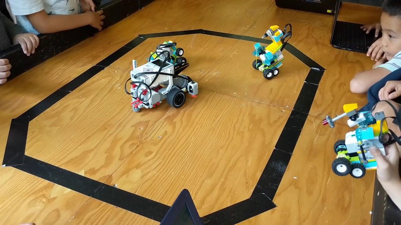 Mindstorm Vs Wedo 2 0 Sumo Epic Battle Youtube