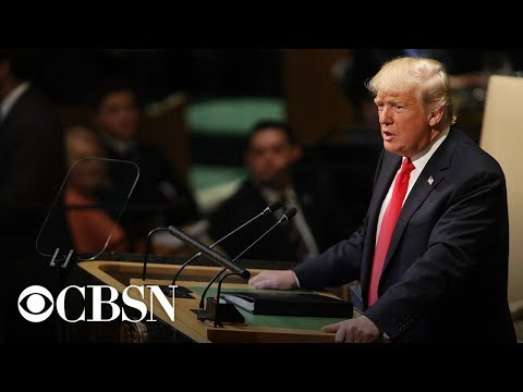 Watch live: President Trump addresses United Nations General Assembly