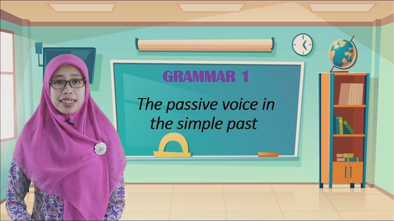 """Video Pembelajaran Kelas 6 Bahasa Inggris Materi """"The Passive…"""