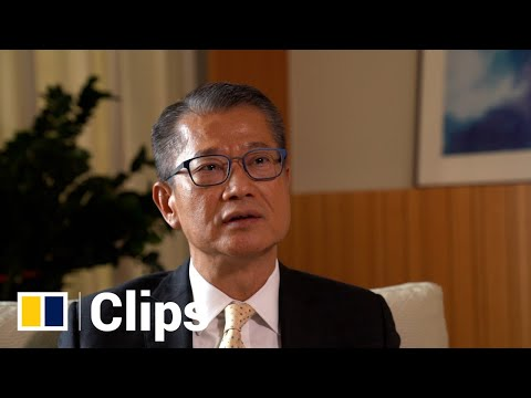 Hong Kong financial secretary Paul Chan on land and housing issue in the city