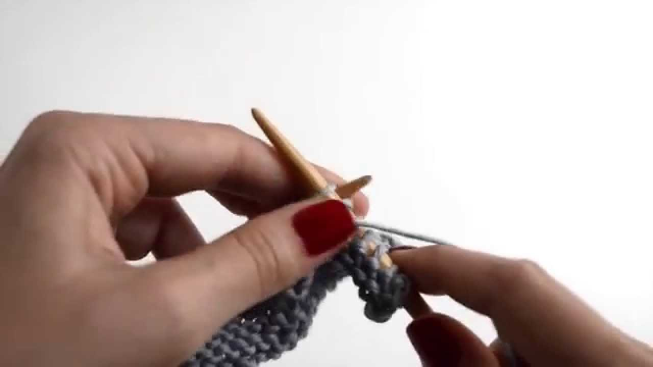Comment tricoter le POINT JERSEY RAYÉ WE ARE KNITTERS  YouTube