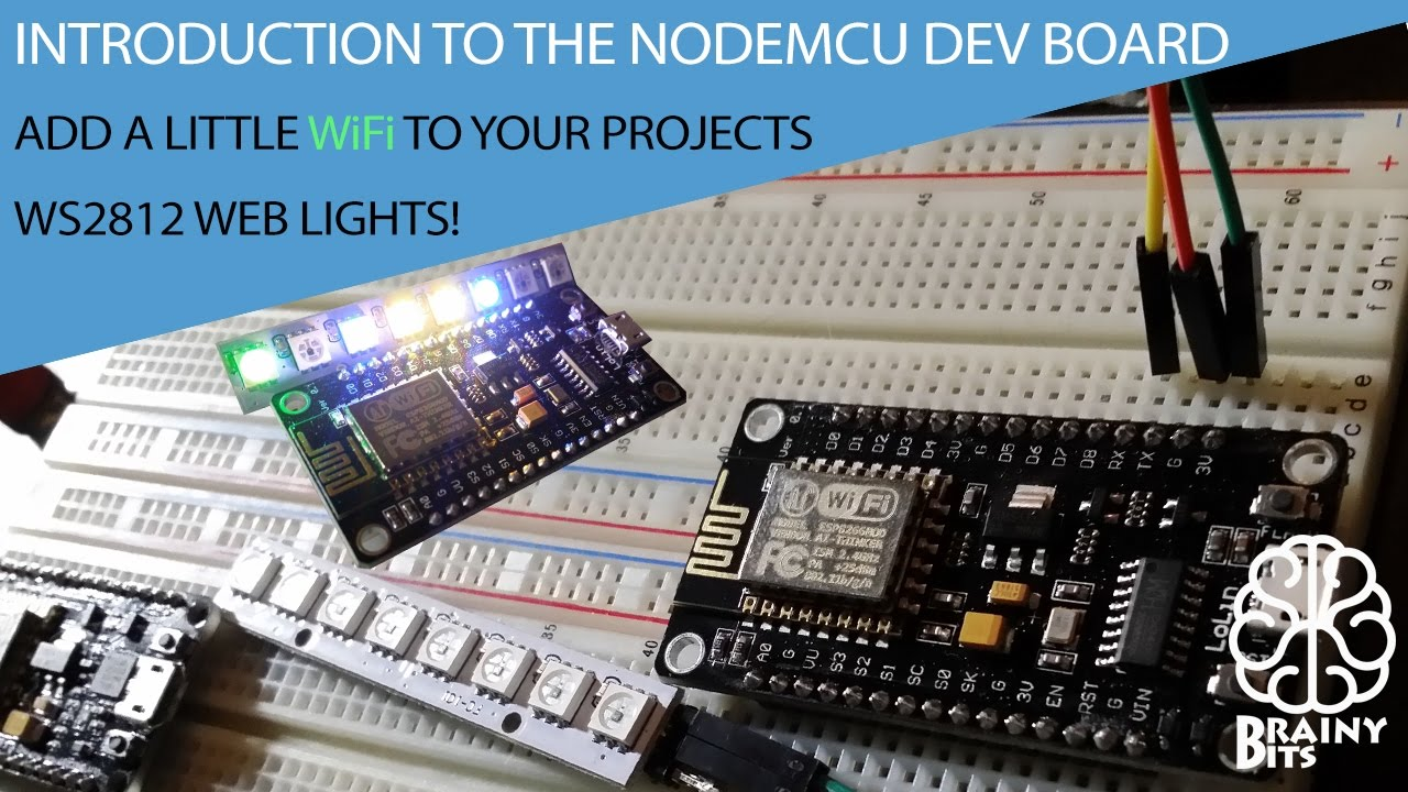 Using WiFi in your next projects with the NodeMCU