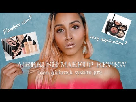 LUMINESS AIR: Icon Airbrush Makeup System Pro | Honest Review + Demo | Full Kit