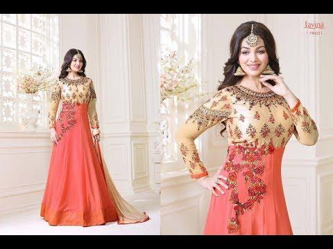 Latest Indian dresses collections 2017 || Ayesha Takia Anarkali Suits || LAVINA ROOHANI VOL 4