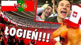 OGIEŃ na trybunach! Polska 2:3 Portugalia