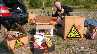 Silvester Feuerwerk Unboxing für EXPERIMENTE und VORFREUDE! (mit Polenböller)