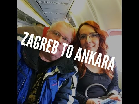 Our trip from Zagreb to Ankara.