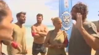 "Survivor : Το βίντεο που ""καίει"" Χανταμπάκη - Χούτο !"