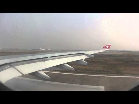Trouble during Take Off - Swiss Airbus A340-300