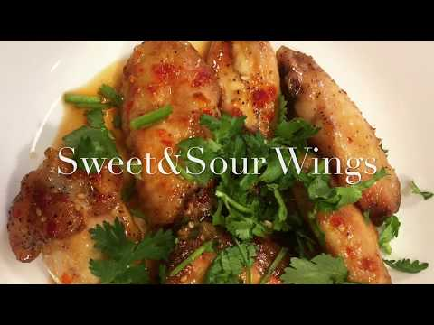 How to make Sweet & Sour And Jamaican Jerk Chicken Wings  (Clean Version)