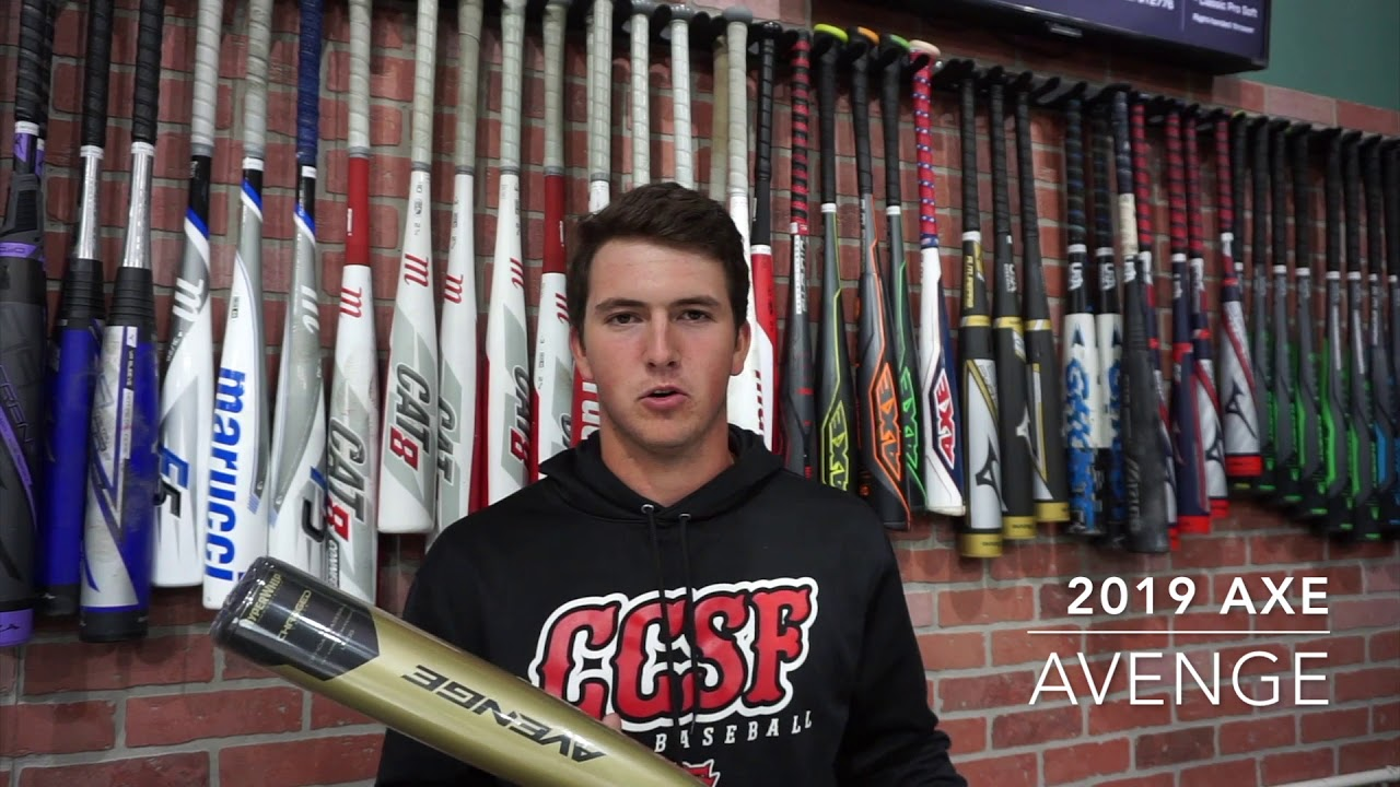 2019 AXE AVENGE / BAT REVIEW at Future Pro Baseball Center