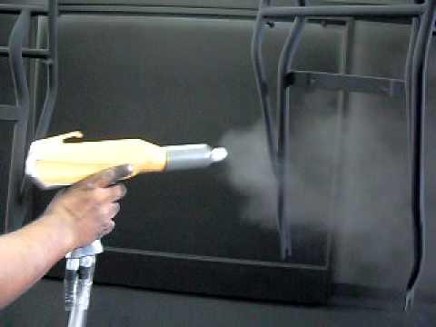 Equipo industrial de pintura electrost tica en polvo doovi - Venta de cabinas de pintura ...