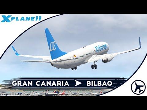Cada vez está mejor!   LPA - BIO   Boeing 737-800 [Default/Zibo]   XPlane 11