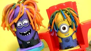 Play Doh Minions Disguise Lab Despicable Me Official Toy Review Laboratorio Laboratorio de Disfraces
