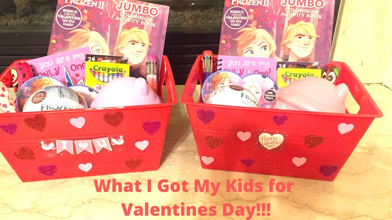 What I Got My Kids for Valentines Day 2020